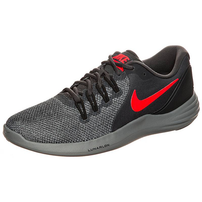 uk availability 6ffe4 307fd Nike Lunar Apparent Laufschuhe Herren anthrazit  orange