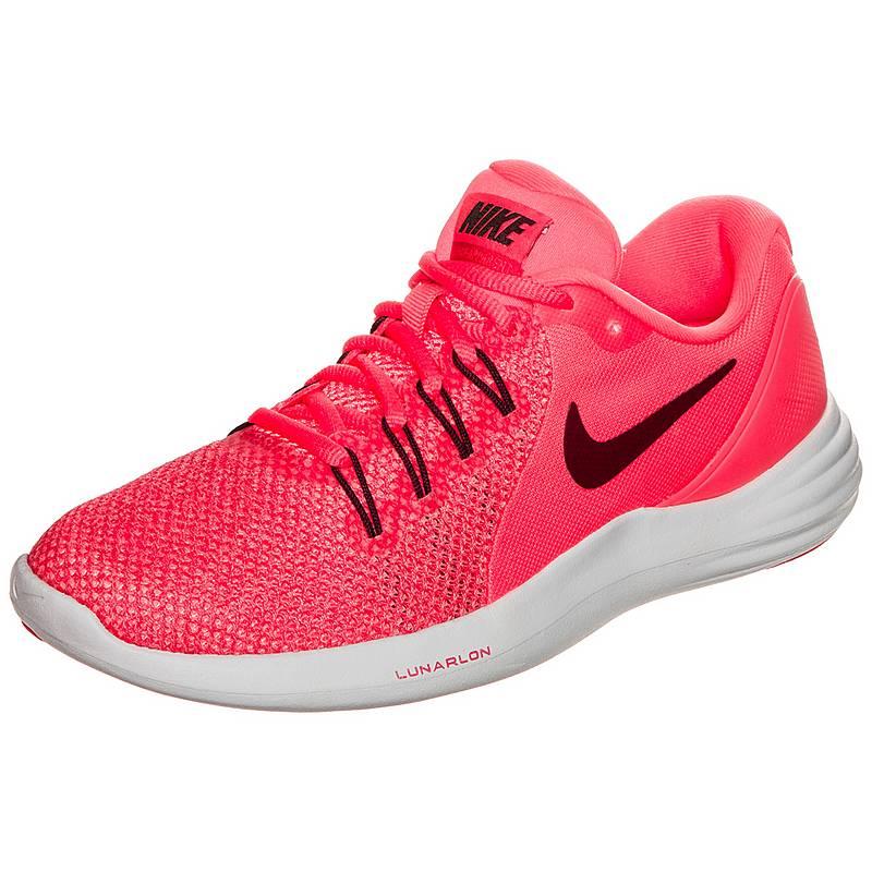 new product 989c3 72ca9 Nike Lunar Apparent Laufschuhe Damen korall  weiß