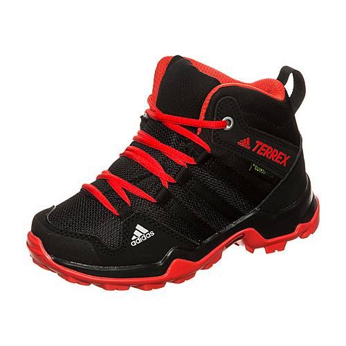 adidas Terrex AX2R Mid CP Multifunktionsschuhe Kinder schwarz / rot