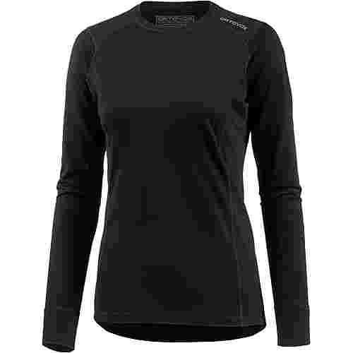 ORTOVOX 145 Ultra Long Sleeve Merino Funktionsshirt Damen black raven