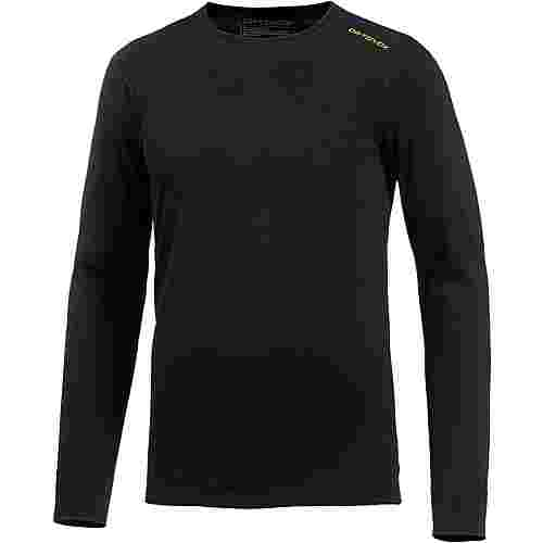 ORTOVOX 145 Ultra Long Sleeve Merino Funktionsshirt Herren black raven