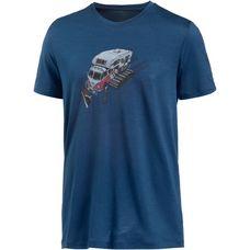 Icebreaker Tech Lite Printshirt Herren largo