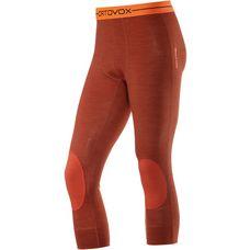 ORTOVOX 185 Rock'n'Wool Short Merino Funktionsunterhose Herren crazy orange blend