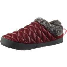 The North Face ThermoBall™ Tent Mule Faux Fur Iv Hüttenschuhe Damen shiny barolo red-iron gate grey