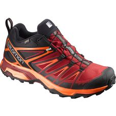 Salomon X ULTRA 3 GTX Multifunktionsschuhe Herren black-red dalhia-scarlet ibis