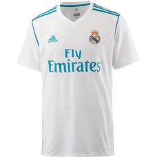 adidas Real Madrid 17/18 Heim Fußballtrikot Herren white