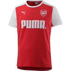 PUMA Arsenal T-Shirt Herren High Risk Red-Puma White