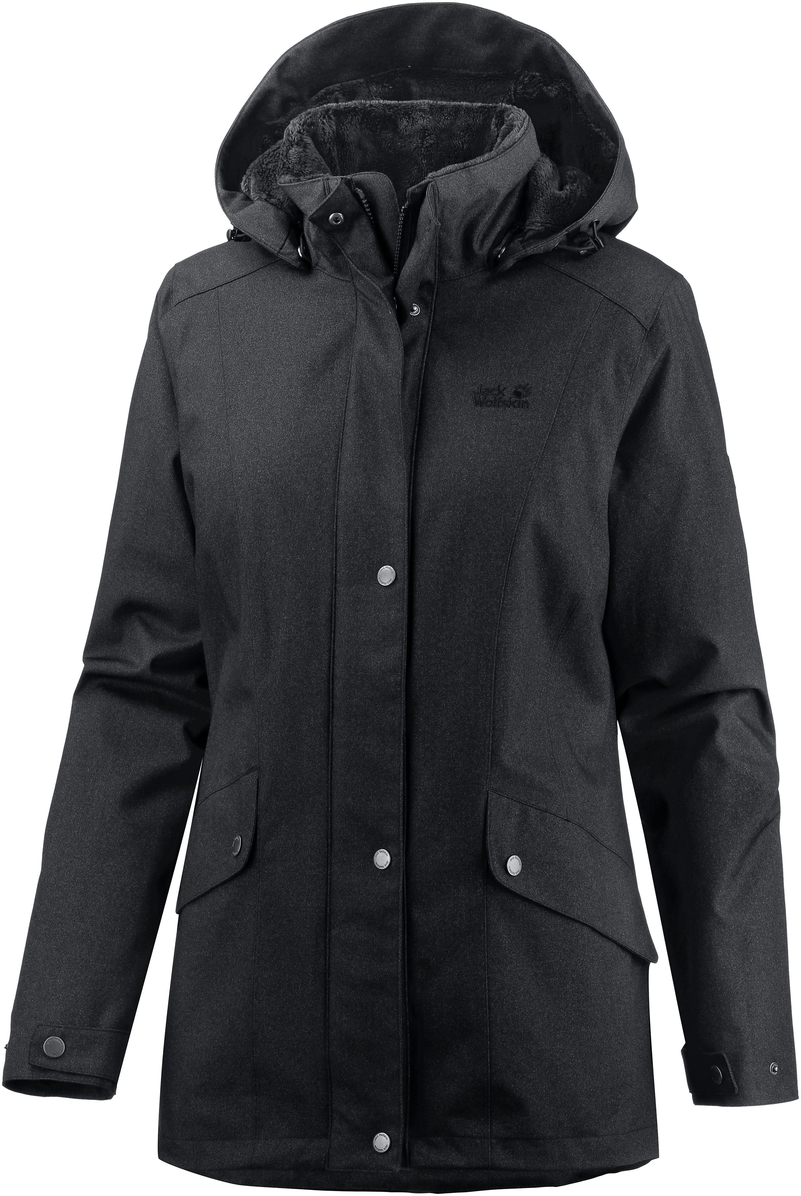 reputable site cd526 3344f Jack Wolfskin Park Avenue Winterjacke Damen black im Online Shop von  SportScheck kaufen