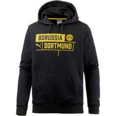 PUMA Borussia Dortmund Hoodie Herren Puma Black