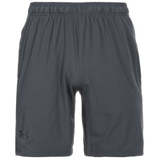 Under Armour HeatGear Cage Funktionsshorts Herren STEALTH GRAY / STEALTH GRAY / BLACK
