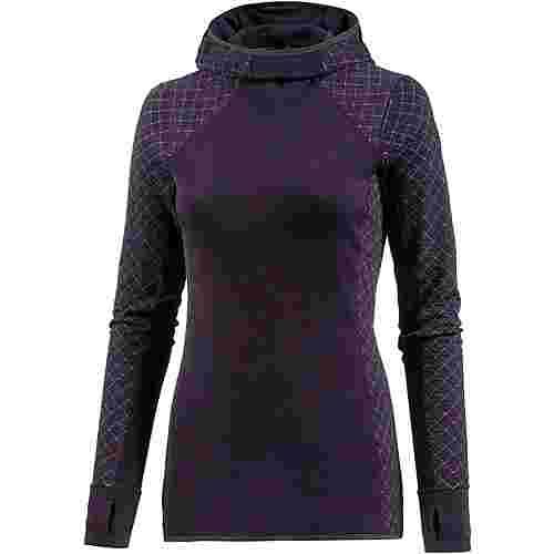 icebreaker affinity merino hoodie damen burgundy hthr im online shop von sportscheck kaufen. Black Bedroom Furniture Sets. Home Design Ideas