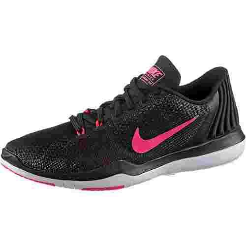 Nike Flex Supreme Trainer 5 Fitnessschuhe Damen BLACK/WHITE