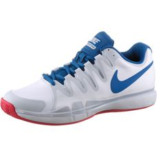 Nike NIKE ZOOM VAPOR 9.5 TOUR CLAY Tennisschuhe Herren WHITE/BLUE JAY-PURE PLATINUM-A