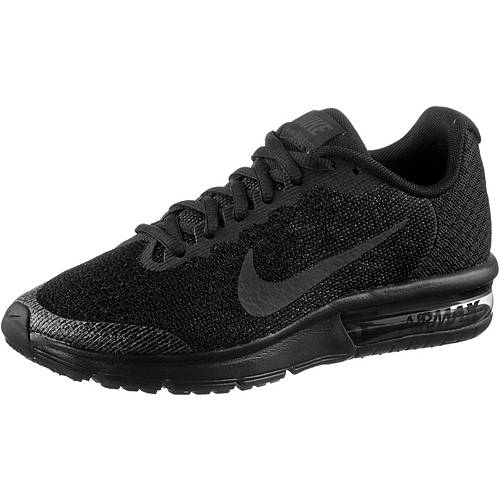 Nike Air Max Sequent Sneaker Kinder BLACK/BLACK-ANTHRACITE