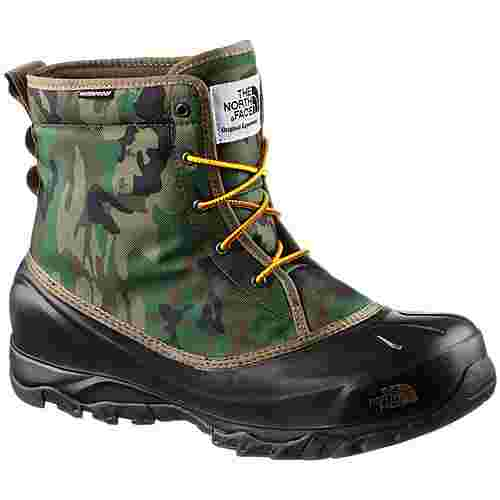 The North Face Tsumoru Boot Winterschuhe Herren black forest woodland camo-tnf black