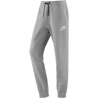 Nike Advanced Sweathose Damen DK GREY HEATHER/WHITE