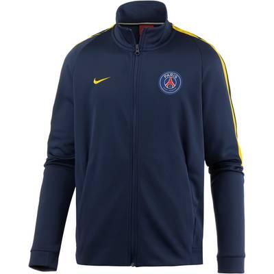 Nike Paris Saint-Germain Trainingsjacke Herren MIDNIGHT NAVY/TOUR YELLOW/(TOUR YELLOW)