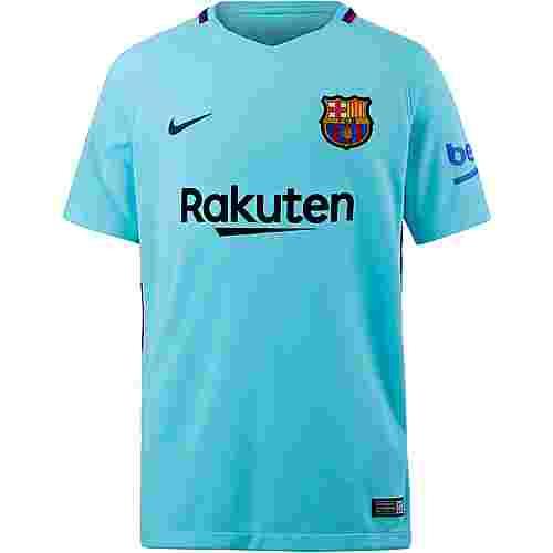 Nike FC Barcelona 17/18 Auswärts Fußballtrikot Kinder POLARIZED BLUE/(DEEP ROYAL BLUE)
