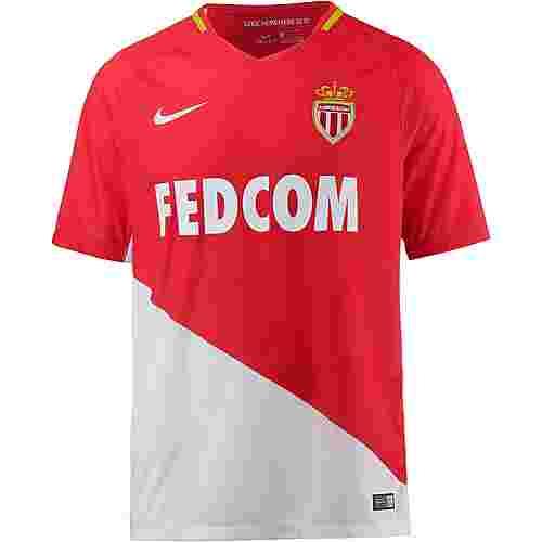 Nike AS Monaco 17/18 Heim Fußballtrikot Herren CHALLENGE RED/(WHITE)