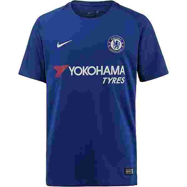Nike FC Chelsea 17/18 Heim Trikot Kinder RUSH BLUE/(WHITE)
