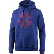 Nike FC Barcelona Hoodie Herren DEEP ROYAL BLUE/(NOBLE RED)