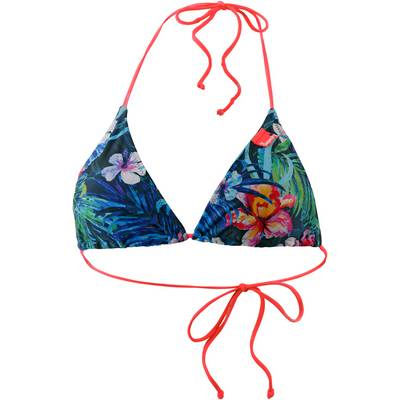 Superdry Marbled Hawaii Bikini Oberteil Damen tropical