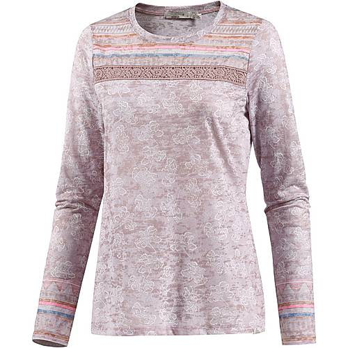 prAna Tilly Klettershirt Damen earth grey willow