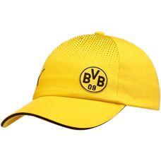 PUMA Borussia Dortmund Cap Cyber Yellow-Puma Black
