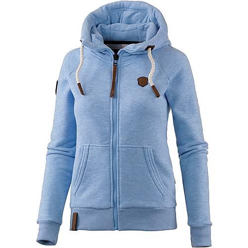 Naketano Brazzo IX Sweatjacke Damen amazing blue melange im