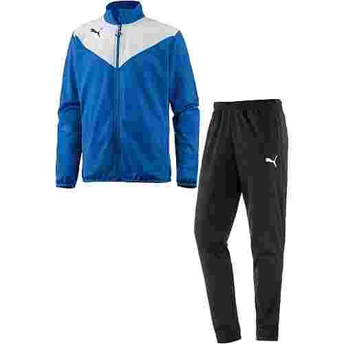 PUMA Essential Trainingsanzug Herren Puma-Royal-Puma-White