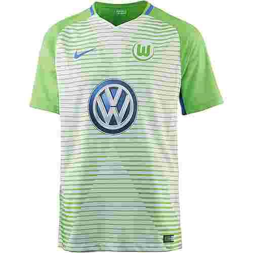 Nike VFL Wolfsburg 17/18 Heim Fußballtrikot Herren WHITE/(HYPER COBALT)
