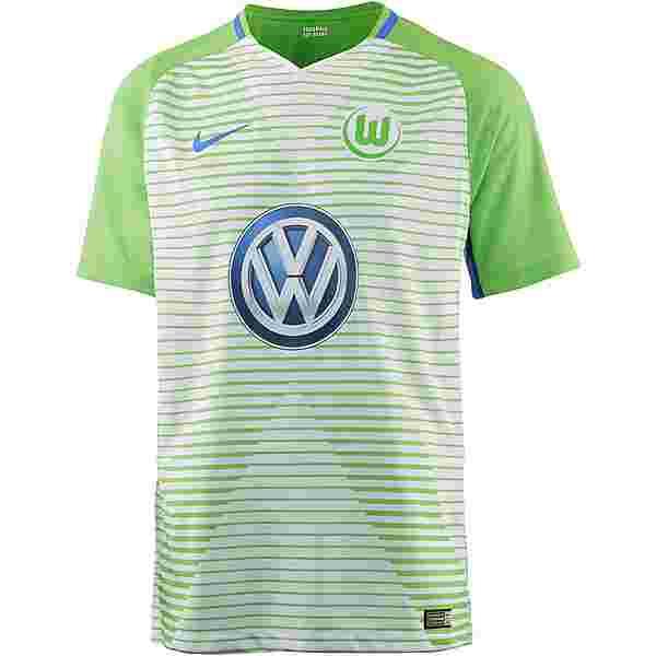 Nike VFL Wolfsburg 17/18 Heim Trikot Herren WHITE/(HYPER COBALT)