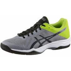 ASICS GEL-TACTIC Volleyballschuhe Herren aluminum/dark grey/energy gree