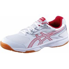 ASICS UPCOURT 2 Volleyballschuhe Herren white/prime red/silver