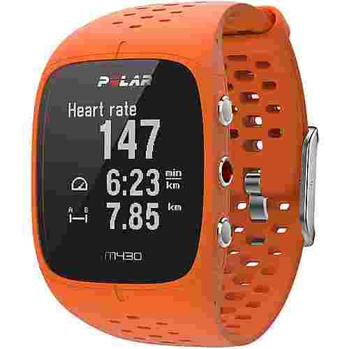 Polar M430 Sportuhr orange