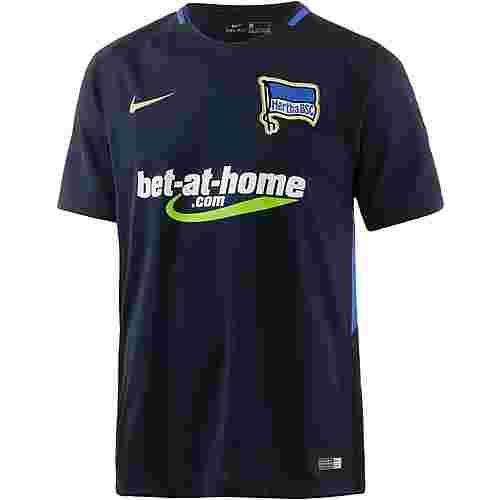 Nike Hertha BSC 17/18 Auswärts Fußballtrikot Herren DARK OBSIDIAN/GAME ROYAL/(METALLIC GOLD)