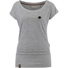 Naketano Dizzel Dizzel Dizzel V T-Shirt Damen grey melange