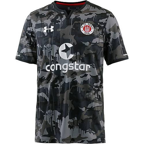 Under Armour FC St. Pauli 17/18 3rd Fußballtrikot Herren grau