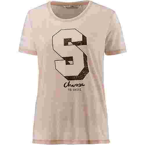 Only T-Shirt Damen cameo rose-shine