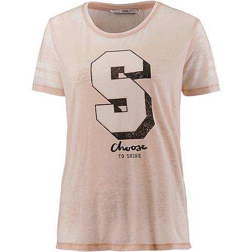Only T-Shirt Damen cameo rose-shine