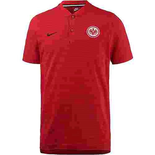 Nike Eintracht Frankfurt Poloshirt Herren UNIVERSITY RED/GYM RED/BLACK/(BLACK)