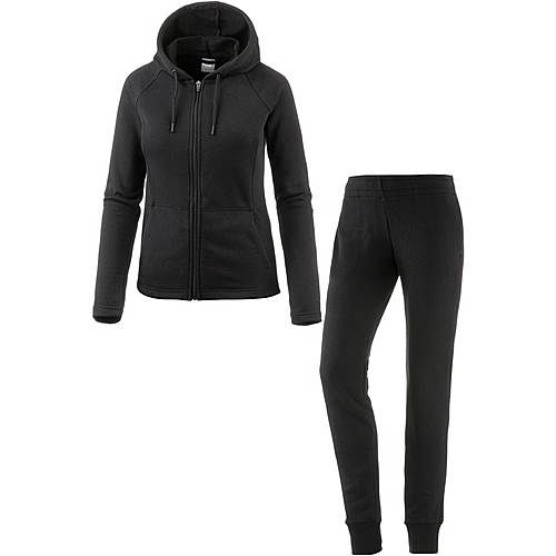 PUMA Classic Trainingsanzug Damen Cotton Black/cotton black