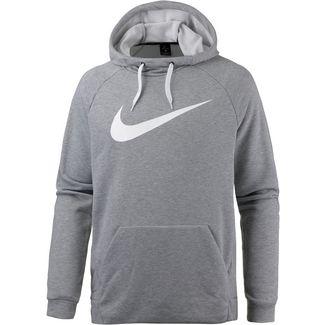 Nike Dry Funktionssweatshirt Herren DK GREY HEATHER/WHITE