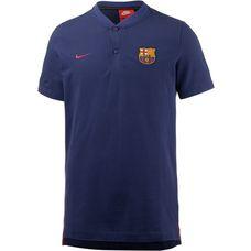 Nike FC Barcelona Poloshirt Herren DEEP ROYAL BLUE/BINARY BLUE/NOBLE RED/(NOBLE RED)