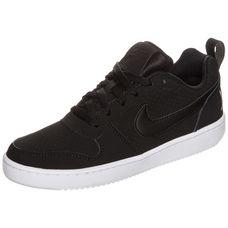 Nike Court Borough Low Sneaker Damen schwarz