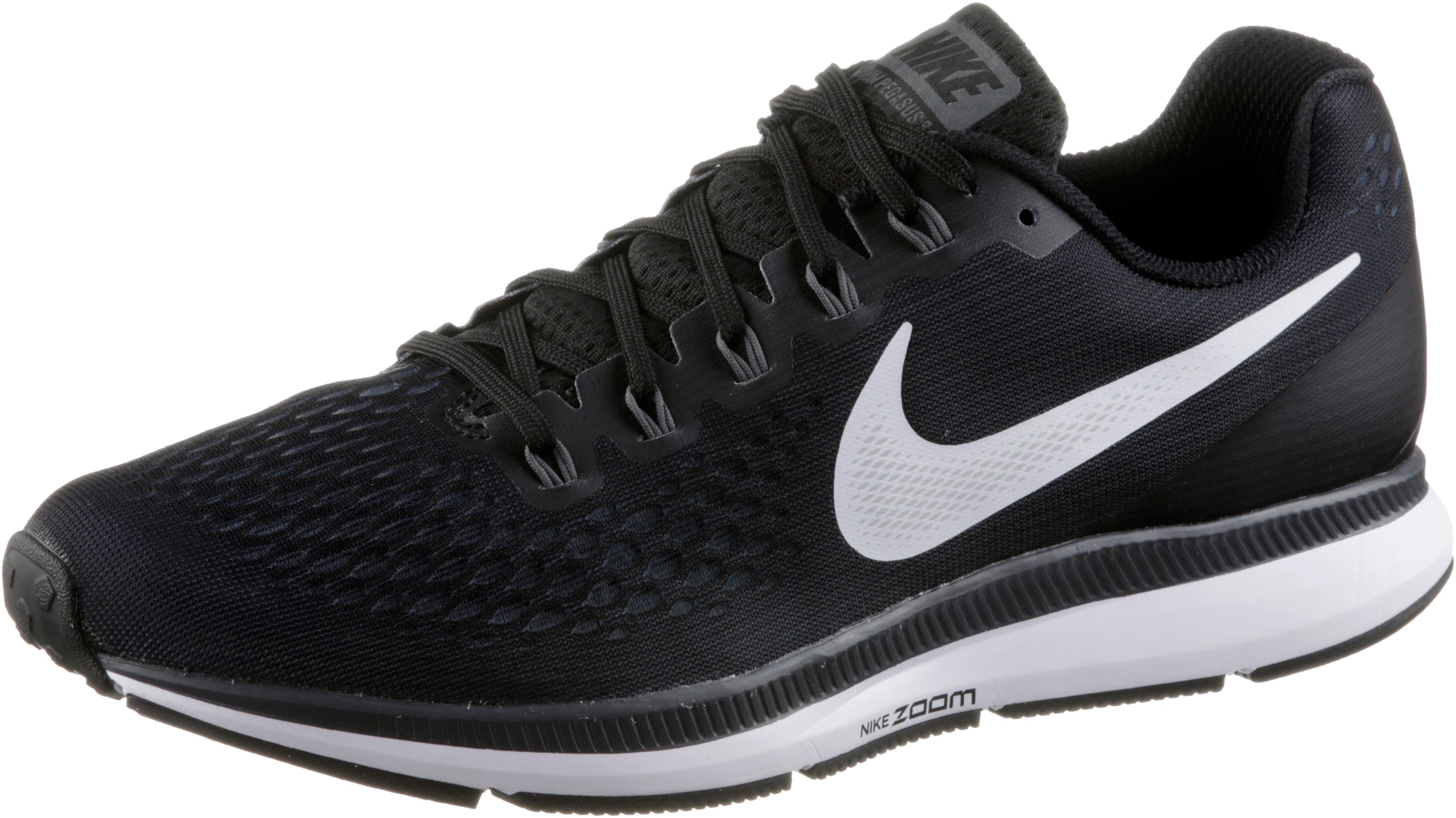 new arrivals c823a 0cae9 Nike AIR ZOOM PEGASUS 34 Laufschuhe Herren blackwhite-dk grey-anthracite  im Online Shop von SportScheck kaufen