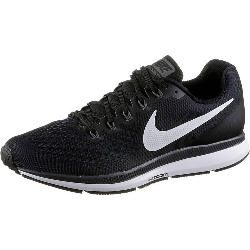 sports shoes 1bdb8 73212 NikeAIR ZOOM PEGASUS 34 LaufschuheHerren black whitedk greyanthracite