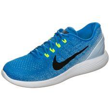Nike Lunarglide 9 Laufschuhe Herren blau / schwarz