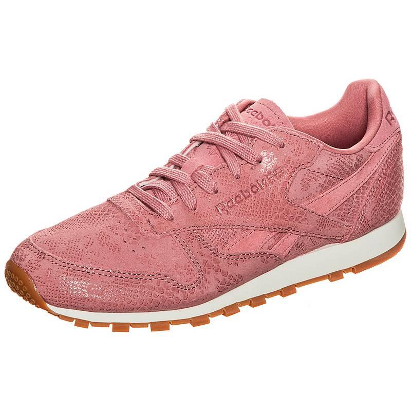sneakers for cheap 59a5f 79468 ReebokClassic Leather Clean Exotics SneakerDamen altrosa   weiß