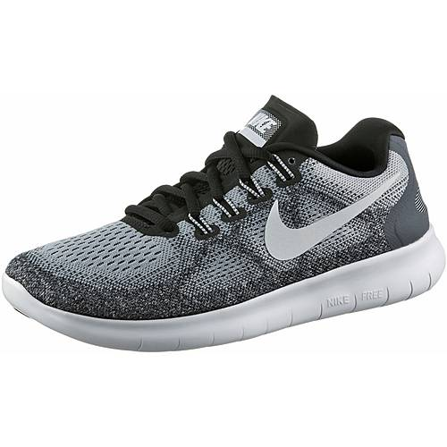 nike free rn 2017 laufschuhe damen wolf grey off white. Black Bedroom Furniture Sets. Home Design Ideas